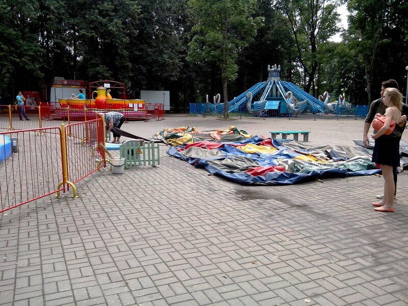 Детский парк Минск