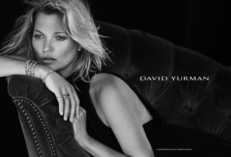 Кейт Мосс для David Yurman