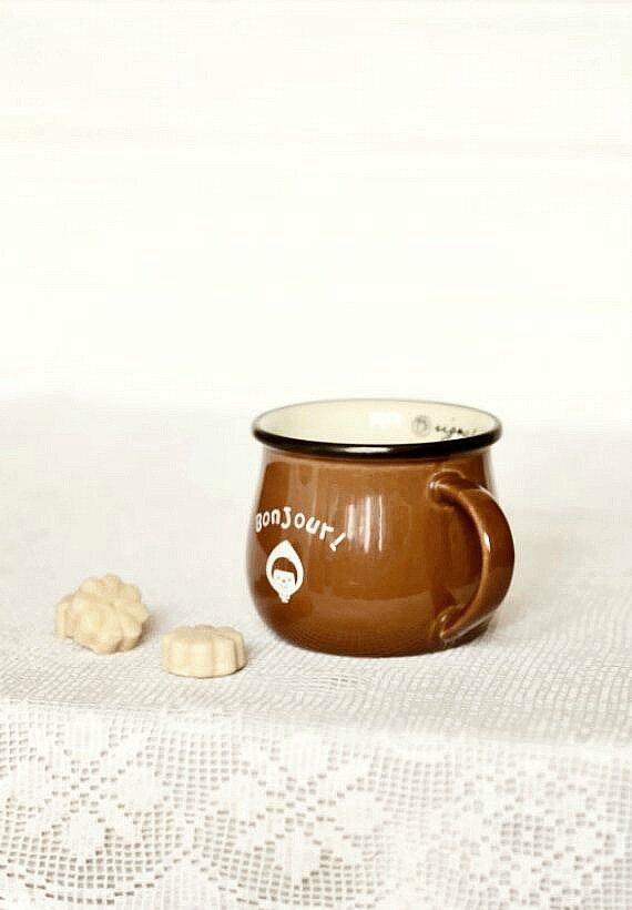 кофе и сливочная помадка