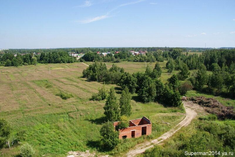 Вид с заброшенного профилактория в Ликино-Дулёво