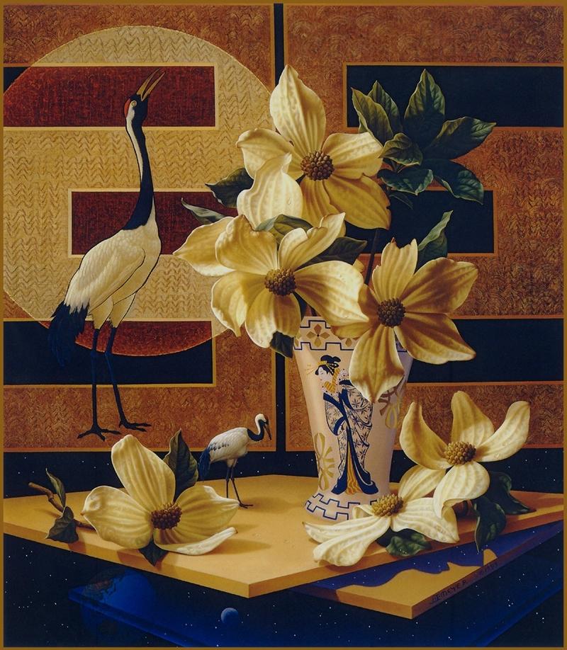 Яркий и загадочный мир художницы Ilene Meyer