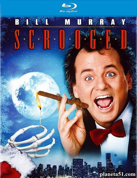Новая рождественская сказка / Scrooged (1988/HDRip)