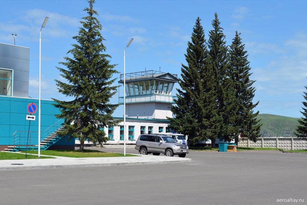 Вышка аэропорта Горно-Алтайск