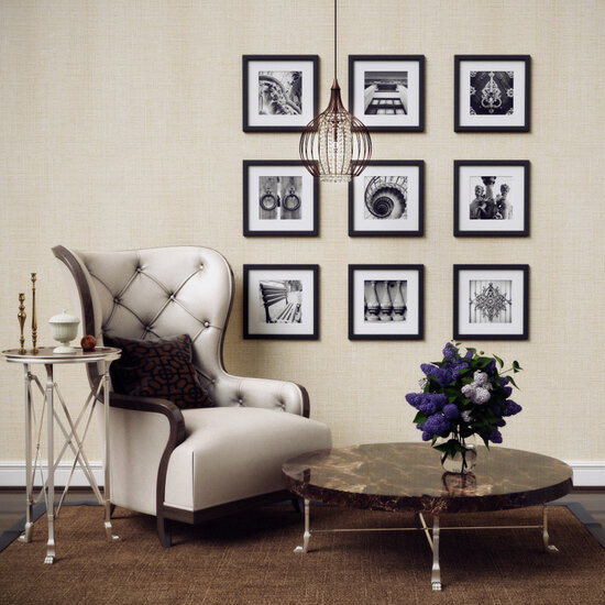 Оформление стен картинами в квартире