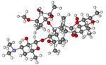 Erythromycin A, Erymax, E-Mycin, erythro, Abomacetin, Ilotycin, Emgel, Benzamycin, Erycette-CID_12560.png