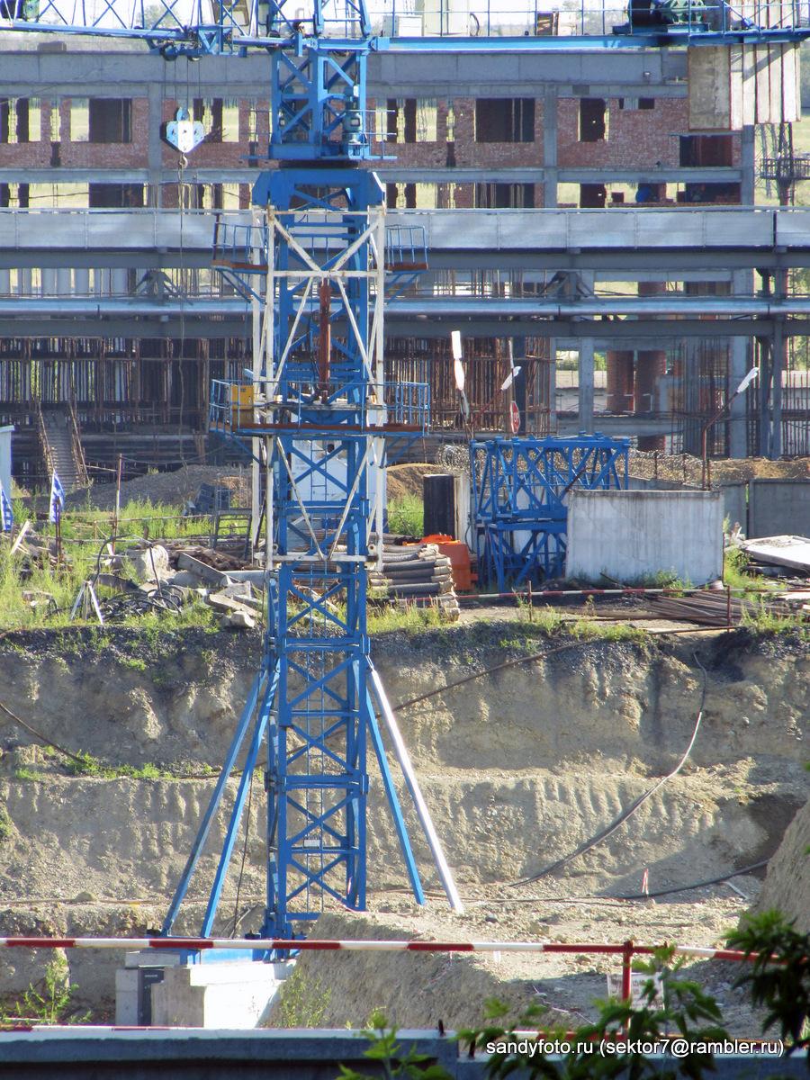 Ход строительства на ГРЭСе