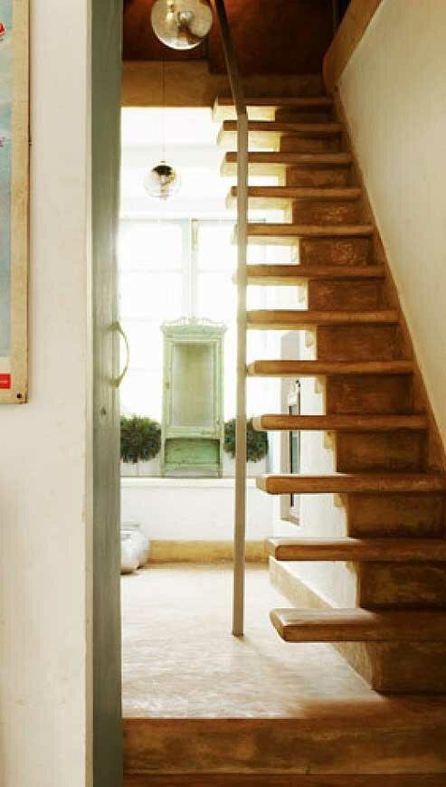 Какими могут быть лестницы