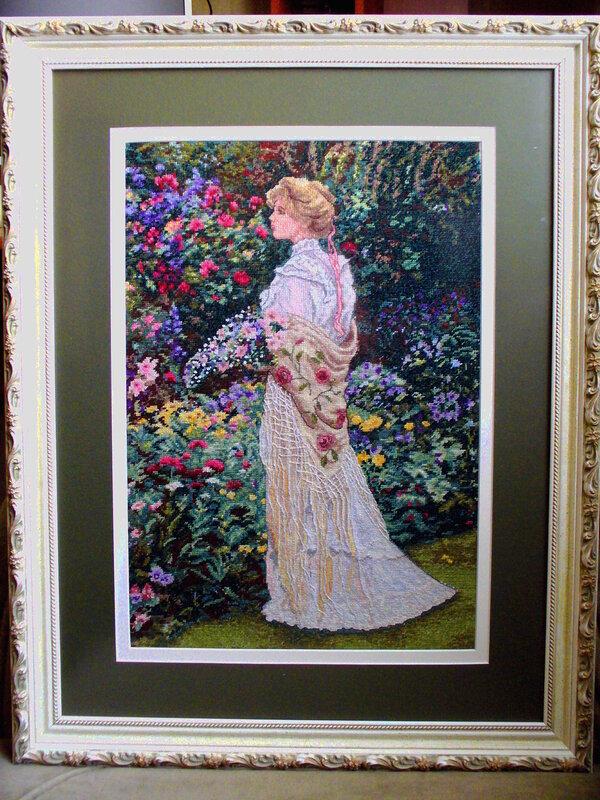 """""""В её саду""""(крестик)"""