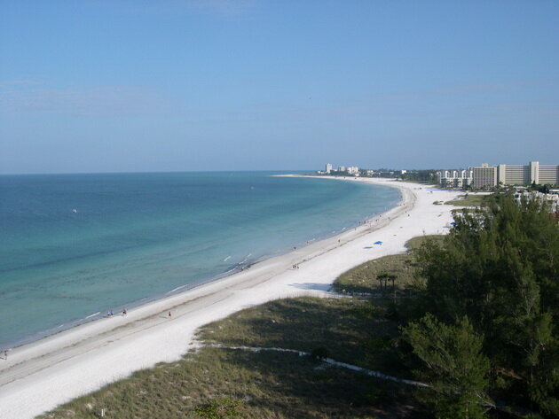 Пляж Сиеста (Siesta Key Beach). Флорида, США