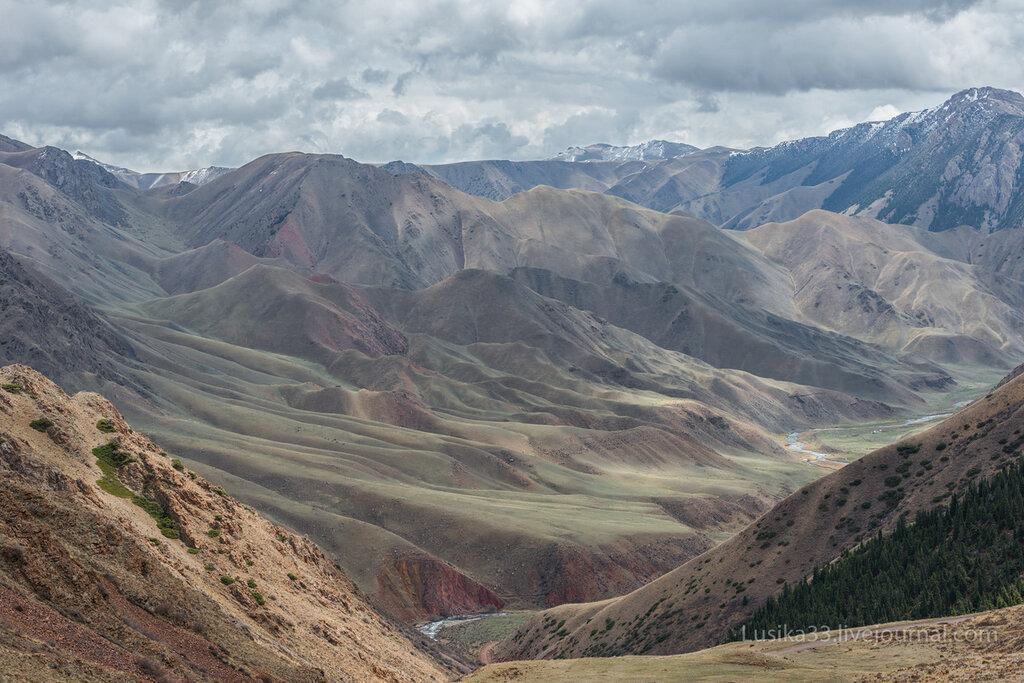Перевал Молдо-Ашуу, Киргизия