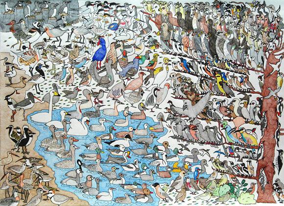 "David Barth, ""Birds"", 2009 © David Barth"