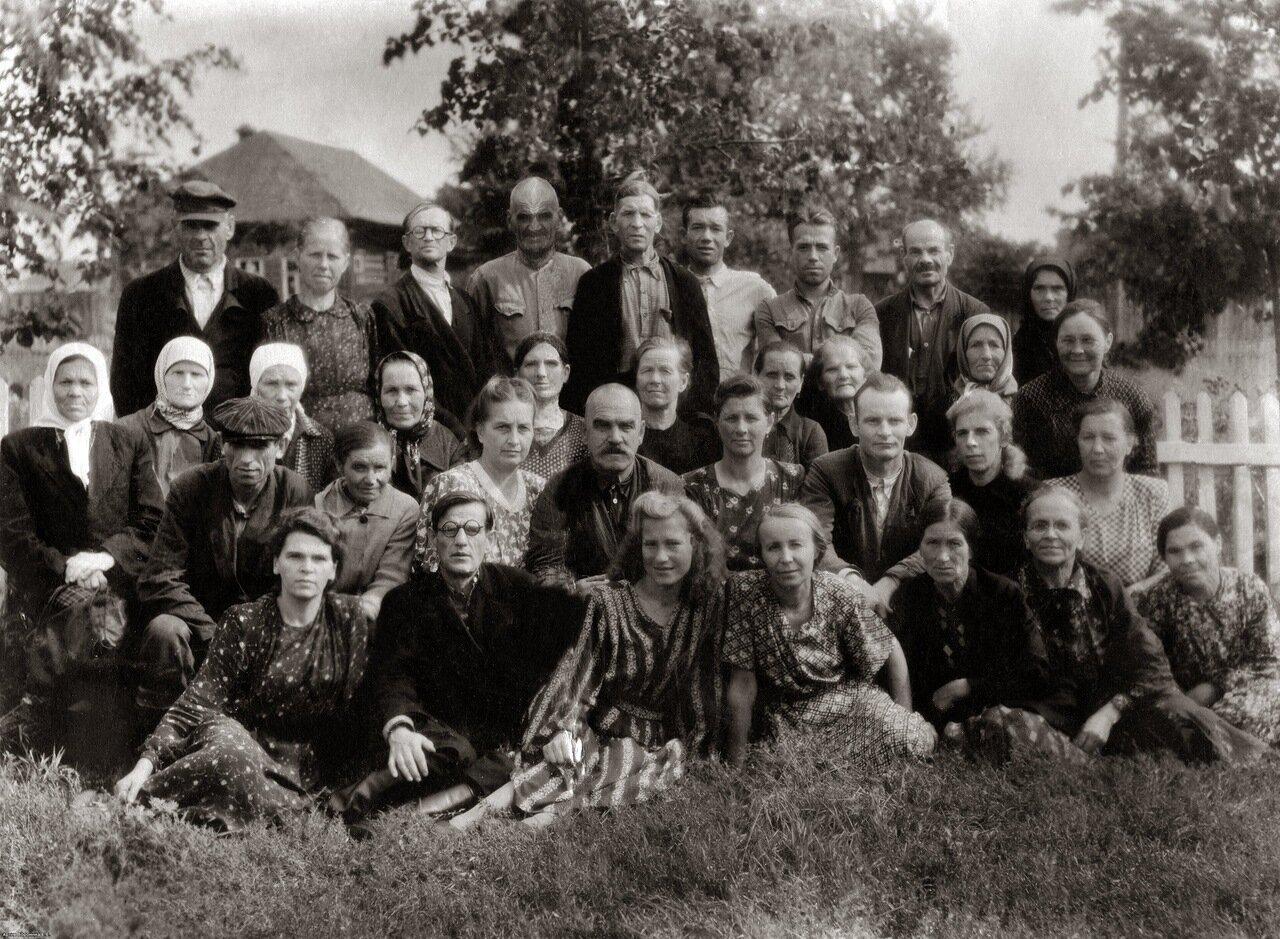 1952. Инвалидная артель, посёлок Некрасовское.