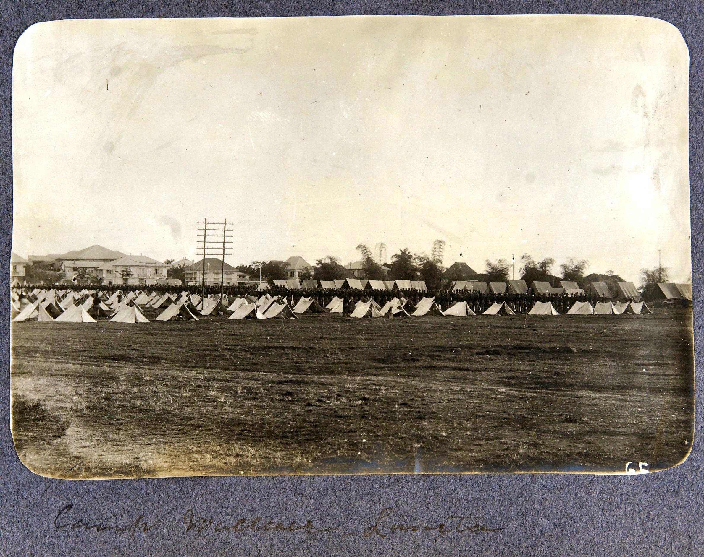 12. Манила. Лагерь Уолесса в Лунете