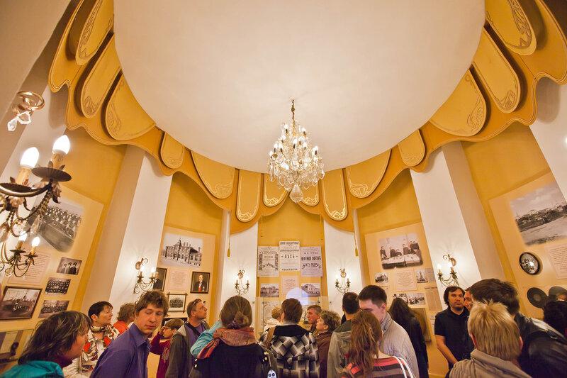 Музей Старого Владимира - третий уровень водонапорной башни
