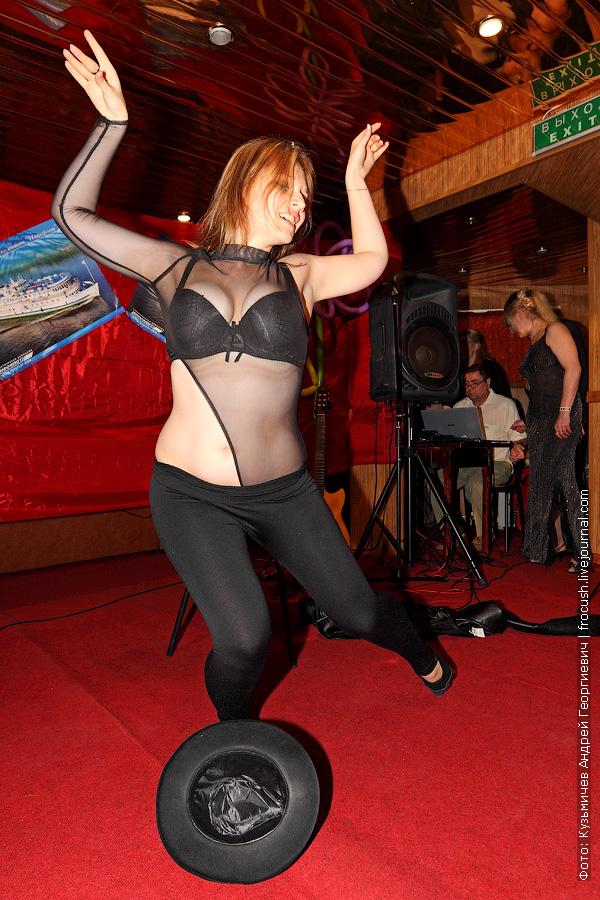 Леля танцы живота на теплоходе Василий Чапаев