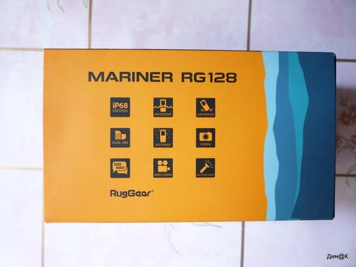 RugGear Mariner RG128 (графическая информация)