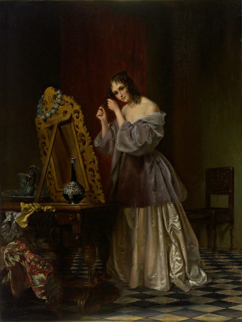 for Fantome dans un miroir
