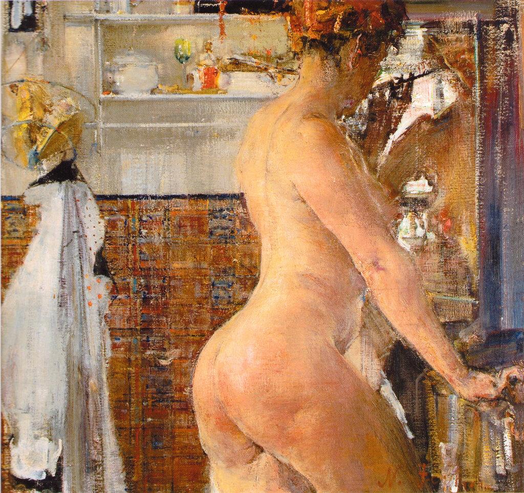 Обнаженная в ванной комнате (1916).jpg