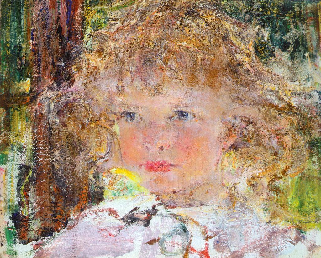 Портрет дочери Ии (1917).jpg