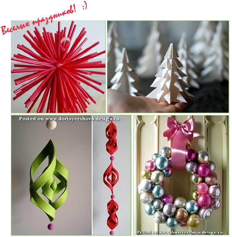 декоративные идеи для рождества и нового года, рождественский декор идеи
