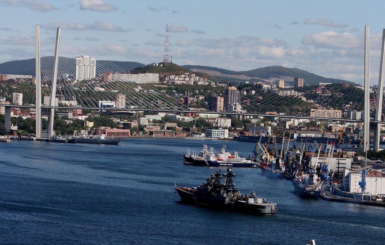 Фото владивостока сегодня корабль
