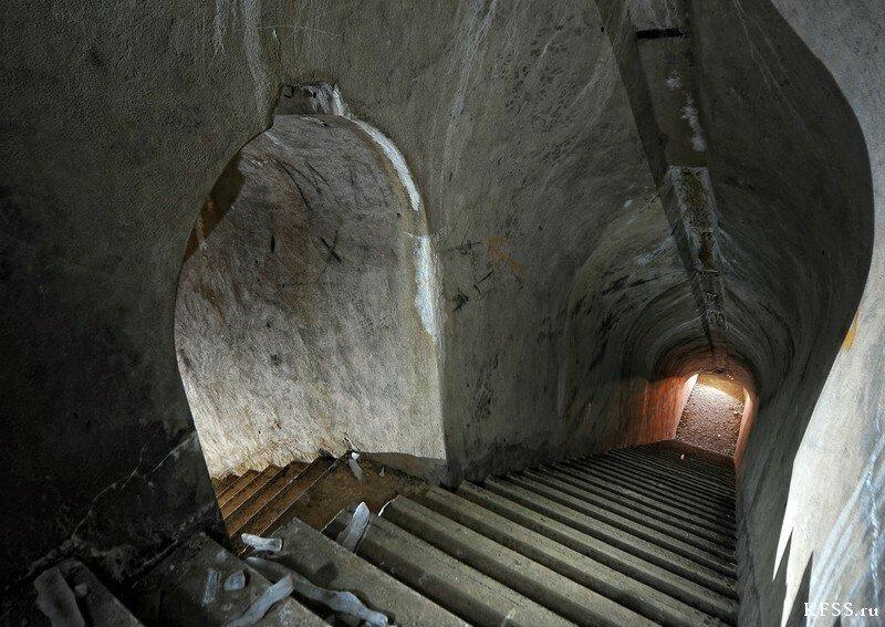 Форт №9 Владивостокской крепости, подземелье форта