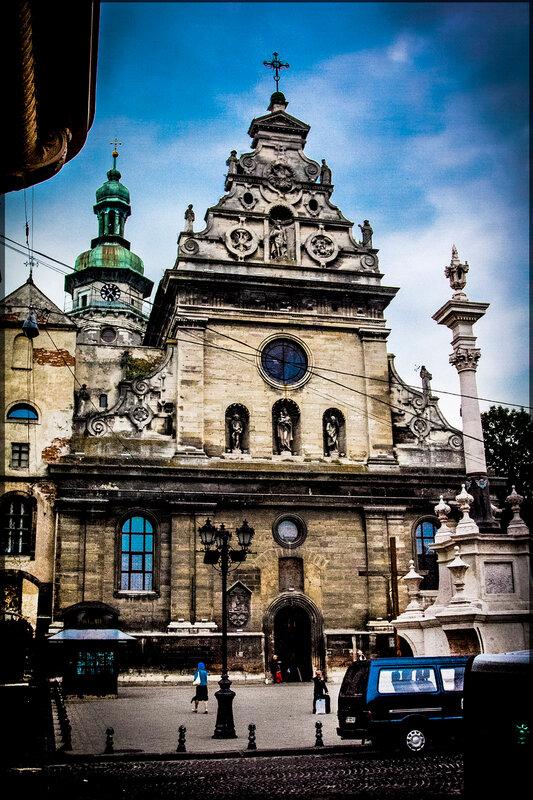 Бернардинский собор. Главный фасад