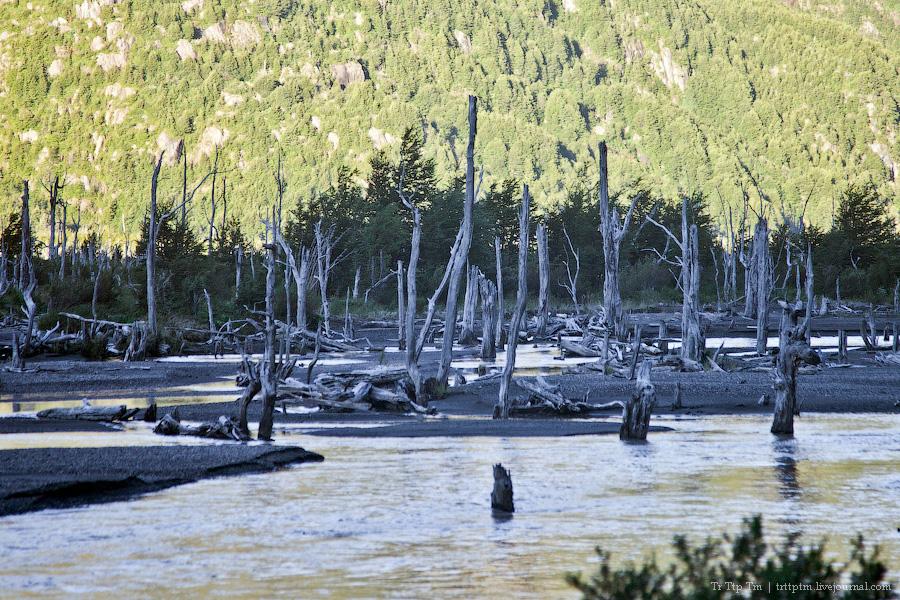 27. Лазурь и мрамор озера Буэнос Айрес - Хенераль Каррера.