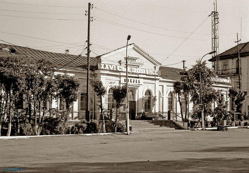 Здание старого вокзала (18.06.2013)