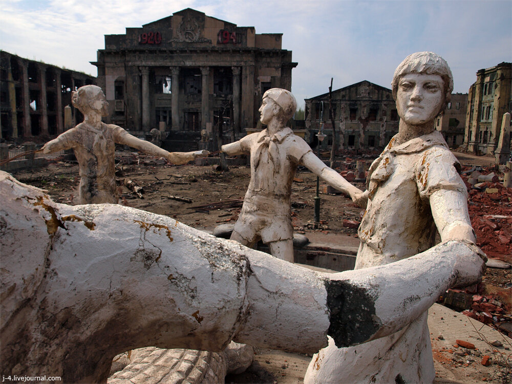 фото, Сталинград, Бондарчук, декорации, фильм