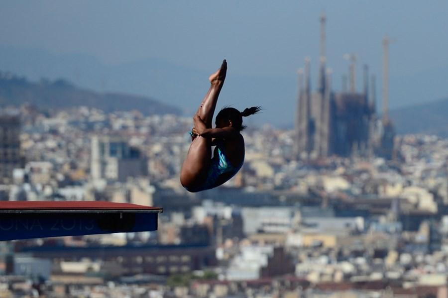 Эффектные фотографии с чемпионата мира по плаванию в Испании 0 e55d5 e2e2462c orig
