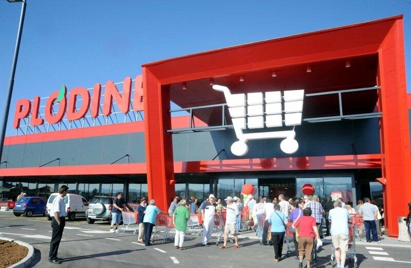 Супермаркет Plodine