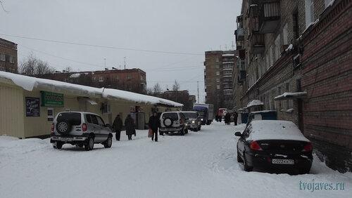 Фото города Инта №6477  Чернова 3, Горького 7а, 11 и 7 (магазин
