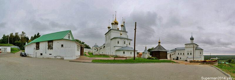 Гороховец - Свято-Троитский Никольский монастырь (Пужалова гора)