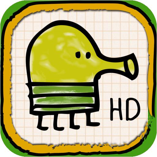 [HD] Doodle Jump HD [v3.7, Платформер, iOS 4.3, ENG]