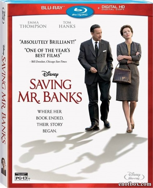 Спасти мистера Бэнкса / Saving Mr. Banks (2013/BDRip/HDRip)