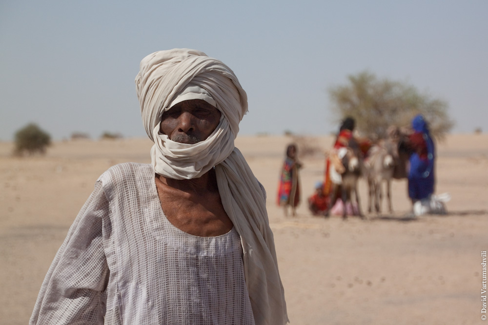 Чад, по дороге из Файя-Ларжо в Нджамену