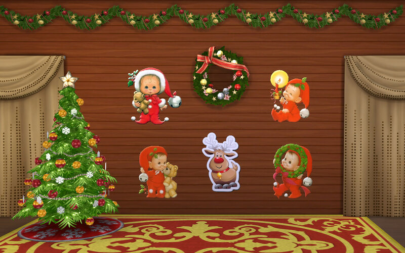 Christmas decor(TS4) by ihelen