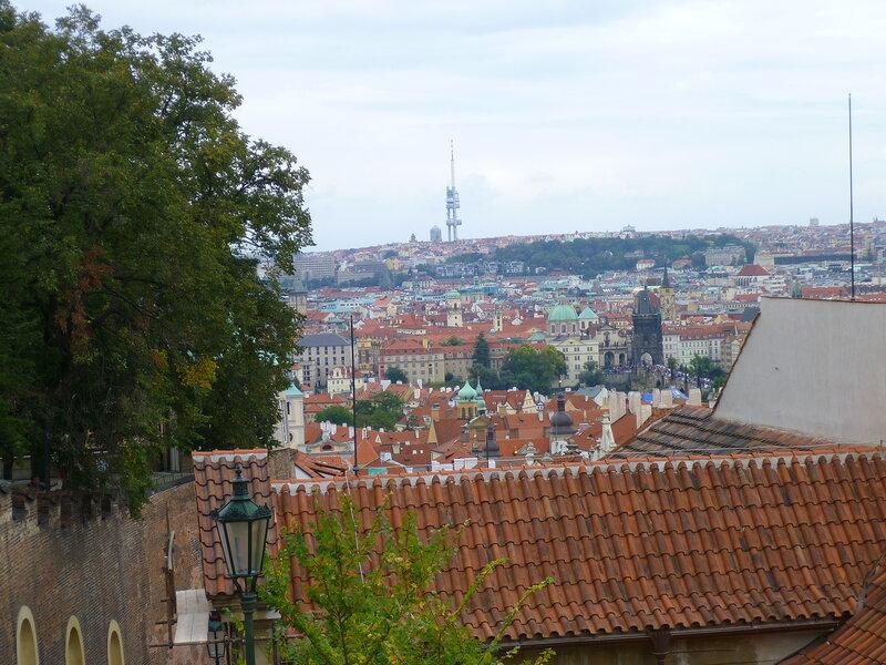 Чехия, Прага - вид от Пражского Града (Czech Republic, Prague - view from the Prague Castle)