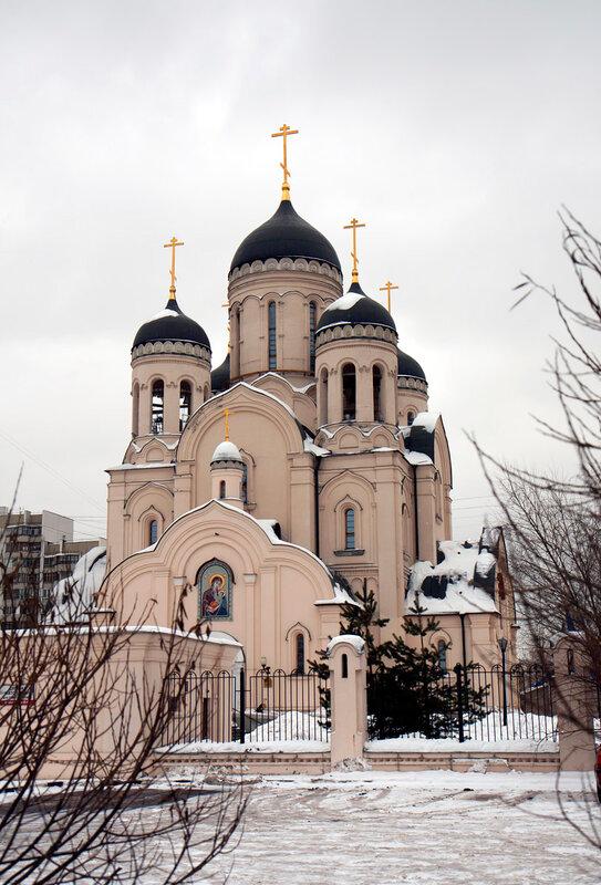 Храм иконы Божией Матери ''Утоли моя печали'' в Марьино.