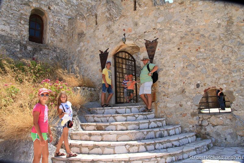 Пелопоннес, Нафплион, крепость Бурджи (Бурдзи)
