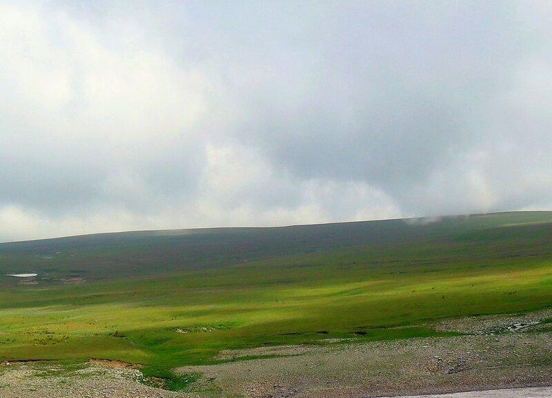 Кавказ, Лагонаки, июль