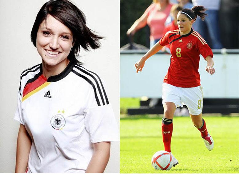 Самые сексуальные футболистки планеты - Зелина Вагнер / Selina Wagner