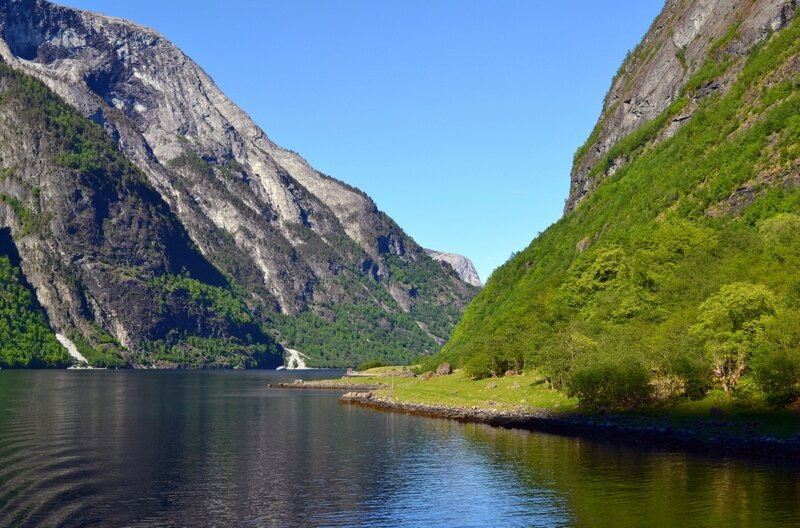 Красоты фьорда