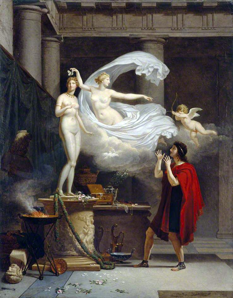 galatea In greek mythology galatea was one of the fifty nereides and the goddess of calm seas she frequented the coast of sicily and there attracted the attention of the cyclops polyphemus.