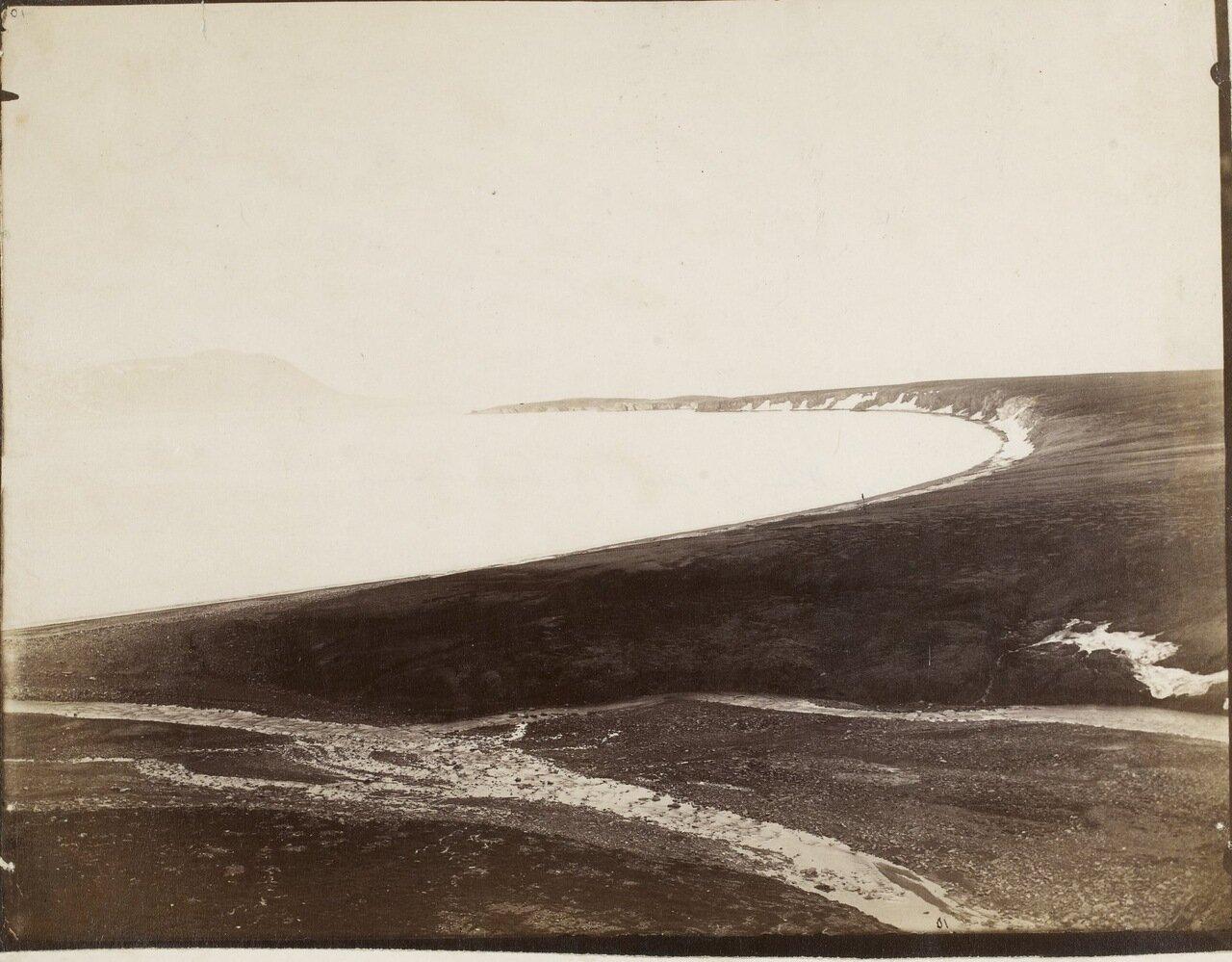 Место, где экипаж «Эйры» высадился на берег