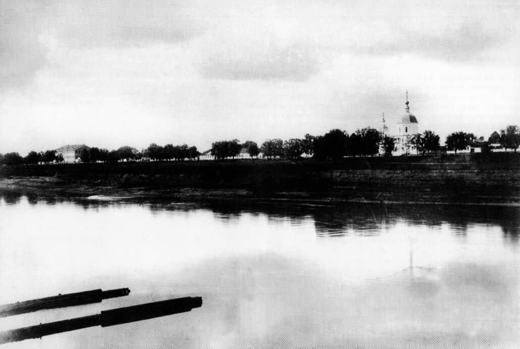 Церковь Филиппа Апостола за Волгой 1900