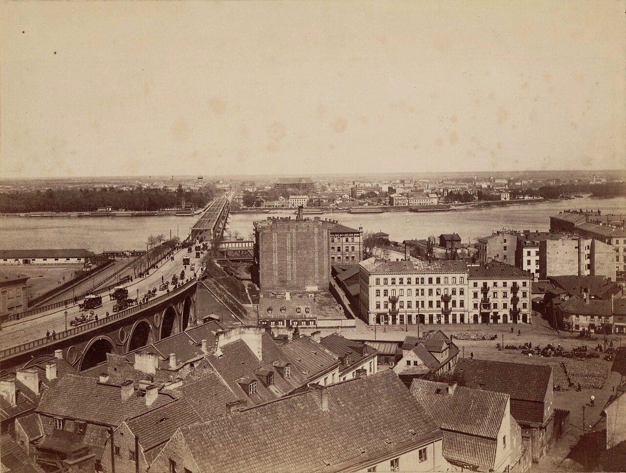 Александровский мост и Пражское предместье 1885
