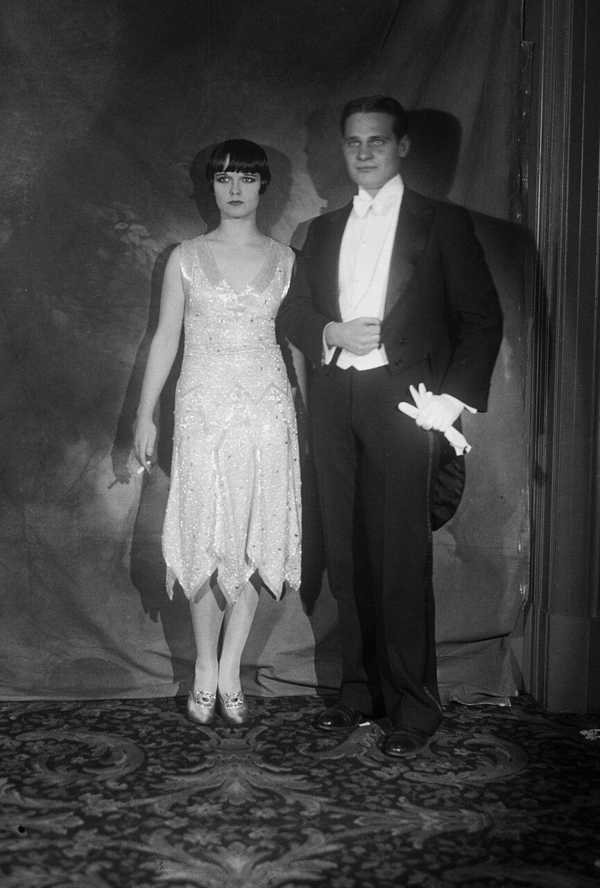 Portrait of John Harkrider and Louise Brocks