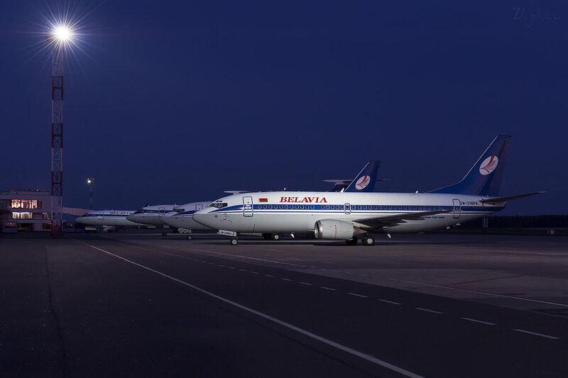 Boeing 737-3Q8 (EW-336PA) Белавиа D706322